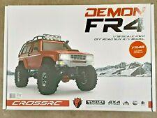 Cross RC FR4B 1/10 Demon 4x4 Crawler Kit-Lexan SUV Body Steel Rims CZRFR4B New!!