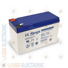 Batteria Professionale al Piombo AGM 12V 7Ah Ricaricabile UltraCell UL7-12