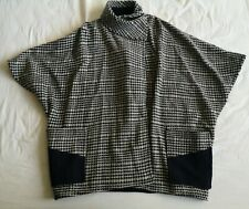 Roseanna Women's Black White Print Wool Jacket No Size Good Used Condition
