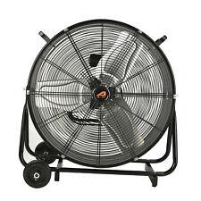 Aa011 24 High Velocity Industrial Drum Floor Fan Blower7500 Cfm Air Circulator