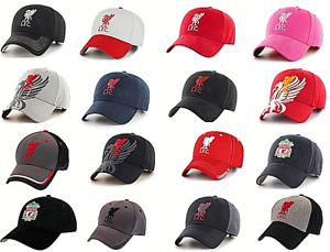 Official Liverpool FC Baseball Cap Adult Kids Black Red Grey - Christmas Gift