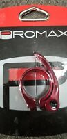 Promax QR-1 Quick Release Seat Clamp 31.8mm Red
