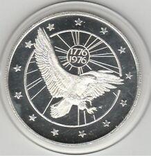 $25 DUNES Hotel Vegas 1776/1976 EAGLE Bicentennial .999 Fine Silver Casino Token