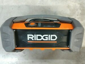 RIDGID 18v Gen5X Dual Power Bluetooth Jobsite Radio Model# R84087