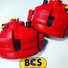 Front Brake Calipers For AUDI A3 O/S/F-N/S/F 8P1 8P7 in red BCS63362/63