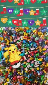 Pokemon Adventskalender Figuren