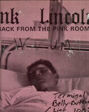 "Pink Lincolns ""Back From The Pink Room"" (Gready Bastard) Rare Original pressing"