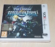 Metroid Prime Federation Force Nintendo 3DS Pal New Factory Sealed