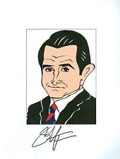 ANTHONY LAPAGLIA Without A Trace, Frasier Signed Auto 8.5x11 Cartoon Autograph a