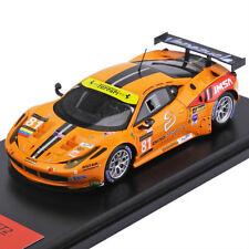 Ferrari 458 Italia GTE #81, 2013 Le Mans, Fujimi TrueScale FJM1443006 Resin 1/43