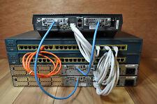 Cisco CCENT CCNA CCNP 1721 2610XM CME 4.0 HOME LAB KIT BEST & CHEAP LAB ON EBAY