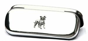Staffordshire Staffy Pen Glasses Spectacle Case Bull Terrier FREE ENGRAVING 346