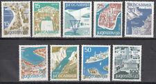 Jugoslawien / Jugoslavija Nr. 994-1002** Jugoslawische Touristenorte