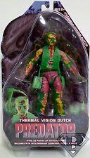 "THERMAL VISION DUTCH Predator 7"" inch Figure Series 11 Neca 2014"