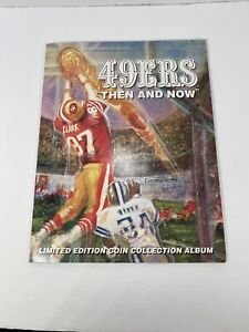 Forty Niner 49er coin collector set NFL limited edition Then and Now