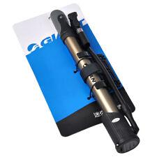 Bike Pump Presta Schrader Valve Mini Pressure Gauge Floor Pump Portable