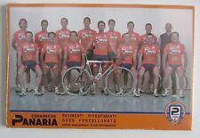 Equipe Complète PANARIA 2002, 15 cartes. Paquet non ouvert