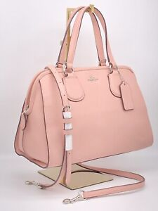 🌟NWT COACH 36392 Nolita Satchel Crossbody Bag Leather Purse BLUSH- PERFECT!