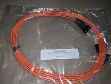 New 2M 6FT ST-SC 62.5/125 Fiber Optic Patch Cable Multimode Duplex - Corning