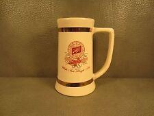 Vintage Schlitz Beer Ceramic Pitcher Jug