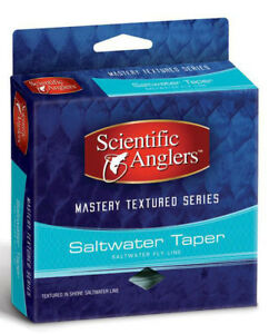 SA Mastery Textured Series Saltwater Taper WF-12-F Fly Line - NIB