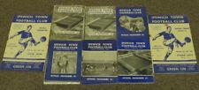 Ipswich Town Home Team Reserves Football Programmes