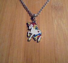 Unicorn Charm Chain Silver Necklace 20 Inch**~Free Ship