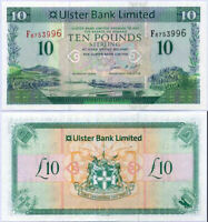 NORTHERN IRELAND 10 POUNDS 2012 ULSTER BANK P 341 b UNC