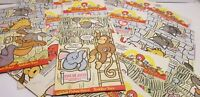 Vintage McDonald's Happy Meal Teenie Beanie Baby Paper Bags March 1998 Lot of 17