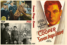 SEVEN DAYS LEAVE 1930 Gary Cooper
