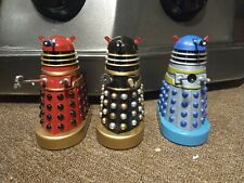 More details for set of 3 character options movie daleks 5 inch 2 custom. 1 official drone.