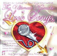 Karaoke - Ultimate Karaoke Love Songs [CD]