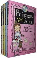 Princess Disgrace 4 Books Set Collection By Lou Kuenzler New