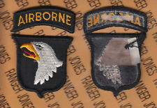 US Army 101st Airborne Division Air Assault dress uniform patch tab set m/e