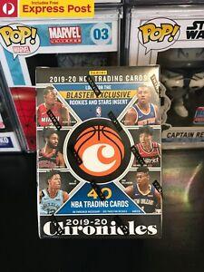 2019-20 NBA BASKETBALL CARDS PANINI CHRONICLES BLASTER BOX *FACTORY SEALED*