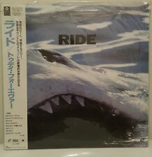 RIDE TODAY FOREVER laserdisc RIDE Today Forever Japanese 8-track shoe gaze indie