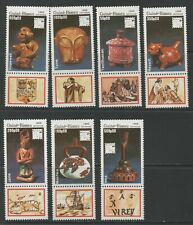Thematic Stamps Art - GUINEA BISSAU 1989 POTTERY 1143/9 7v mint