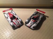 Minichamps 1:43 Set Audi R8 winner le mans LM 2000 N.8 2002 N.1 no spark