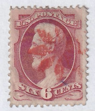 United States 1870 Bank Note Issue #148 With Fancy Red Cancel. See*