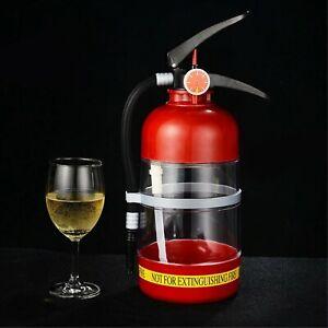 2L Fire Extinguisher Shaped Wine Dispenser Beer Beverage Liquor Bar Dispenser