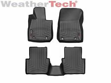 WeatherTech Floor Mats FloorLiner for Mazda CX-3 - 2016-2019 - 1st/2nd Row-Black