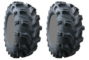 Pair 2 Interco Vampire II 25x8-12 ATV Tire Set 25x8x12 2 25-8-12