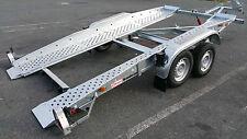 Pkw- Anhänger Autotransporter Brenderup U 110, 2.5 t m. 2 Gang Seilwinde 1450 kg