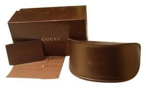 New Gucci Sunglasses Eyeglasses Large Soft Case Box Cloth Card Authentic