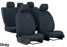 """VAUXHALL CORSA D 5 DOOR 2006-2014 """"TREND"""" FABRIC SEAT COVERS MADE TO MEASURE"""