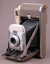 Polaroid Land Camera Model 80A-Leather Hand Strap-Bellows-Great Look