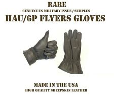 GLOVE SHELLS FLYERS HAU/6P VINTAGE US MILITARY LEATHER TACTICAL GLOVES SIZE 3
