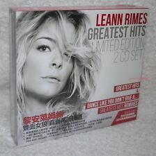 LeAnn Rimes Greatest Hits & Dance Like You Don't Give A Taiwan Ltd 2-CD w/BOX