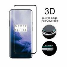 For OnePlus 7 Pro Full Screen Protector Tempered Glass Guard Shield Film Cover