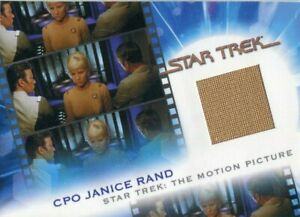 STAR TREK: COMPLETE MOVIES 2007 Costume Card!!! #MC7 Janice Rand